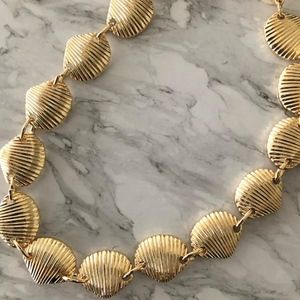 Gold Laguna Shell Choker Necklace